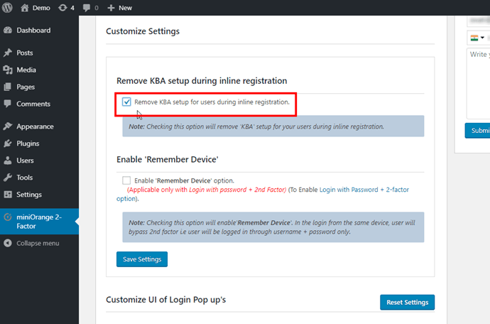 remove-security-question-enable