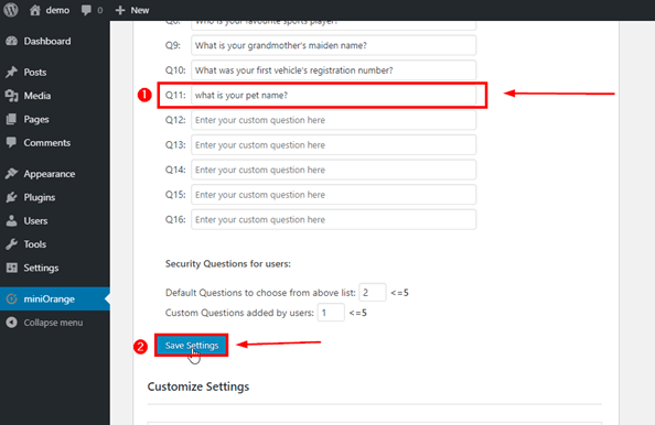 save-custom-question